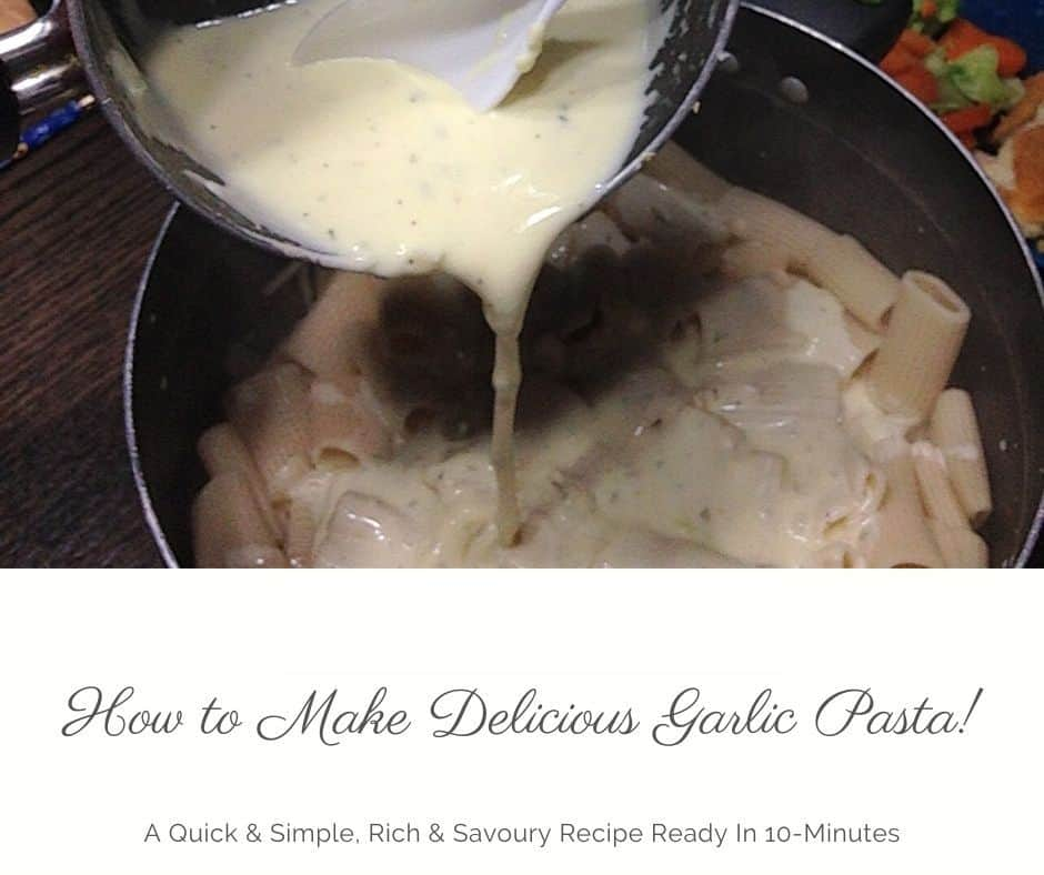 how to make garlic sauce for pasta