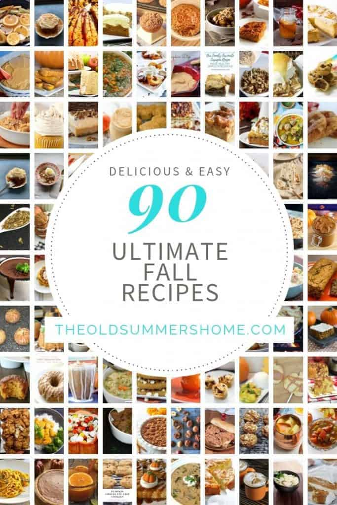 90 fall recipes