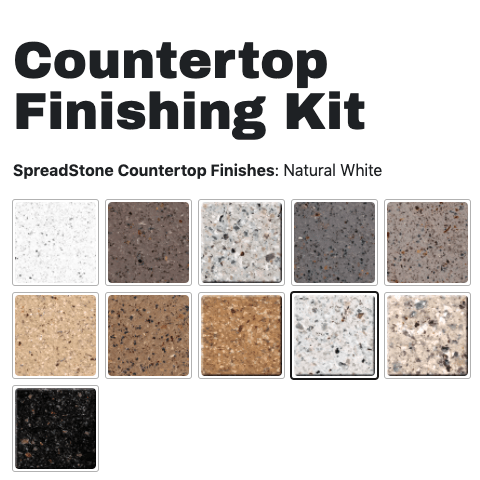 Daich Coatings SpreadStone Finishing Kit colors - Amanda Seghetti