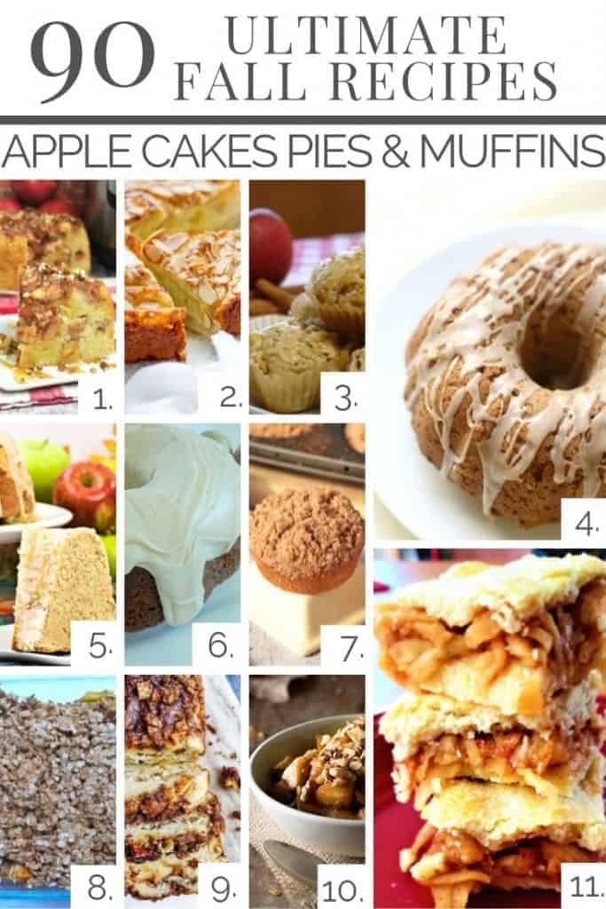 Apple Cakes, Pies & Muffins that are sure to please your taste buds!