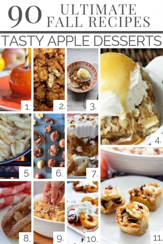 fall apple desserts - Amanda Seghetti