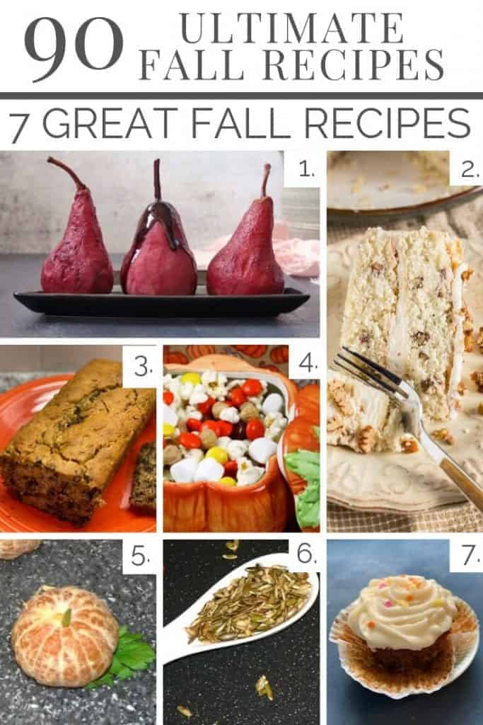 From pears to oranges to banana bread these 7 wrap up our Ultimate 90!