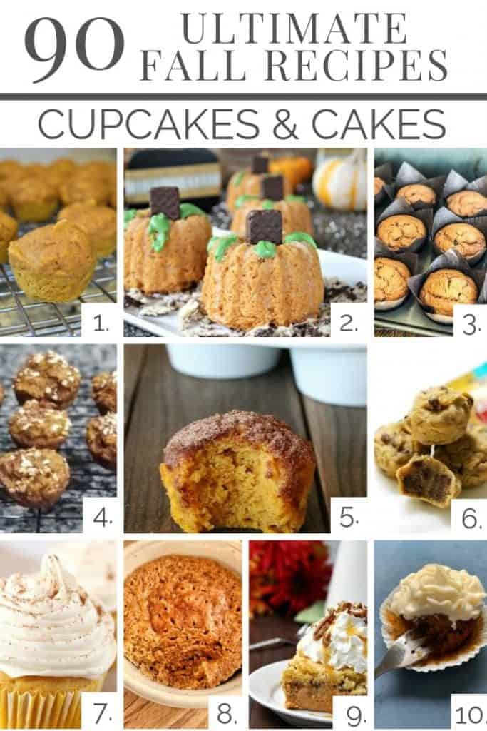 10 amazing cup cakes muffins and cake recipes from our 90 ultimate fall recipes!