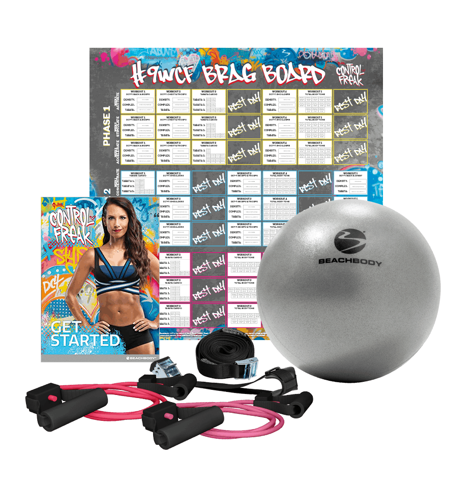9 week control freak accessories bundle