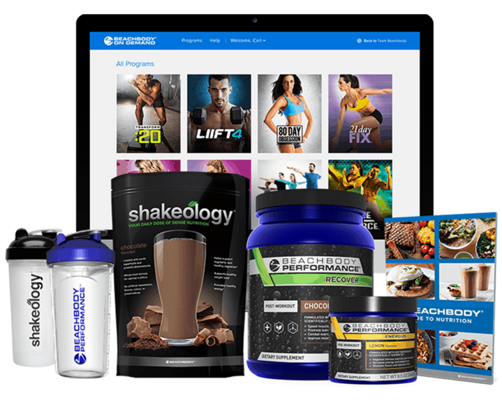 Beachbody on Demand Deluxe Challenge Pack