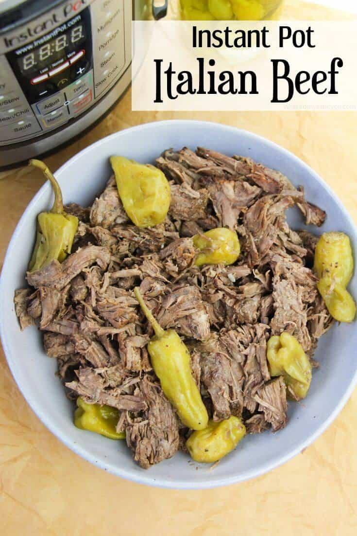 Instant Pot Italian Beef 1 - Amanda Seghetti