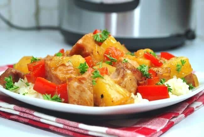 Instant Pot Sweet N Sour Pork 2 1 - Amanda Seghetti