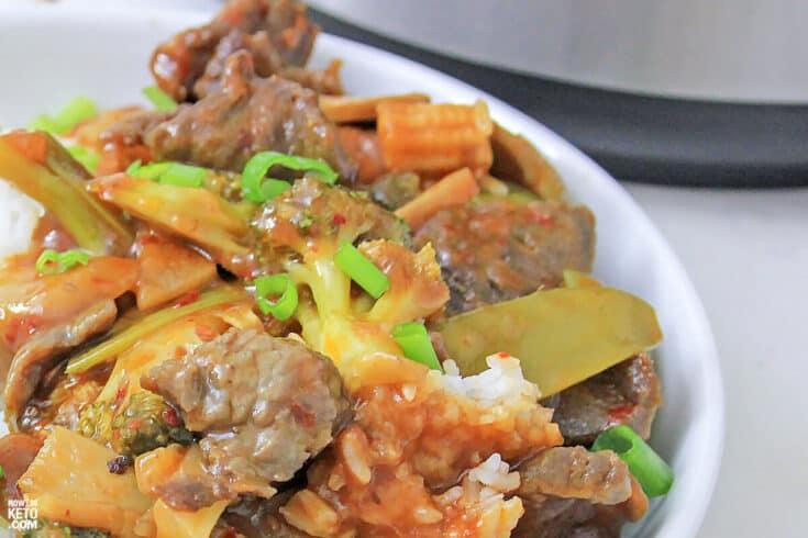 Low Carb Garlic Beef 5 - Amanda Seghetti