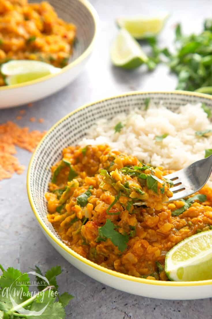 Low fat lentil curry 2 - Amanda Seghetti