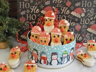 Santa Nutter Butter Cookies Recipe f - Amanda Seghetti