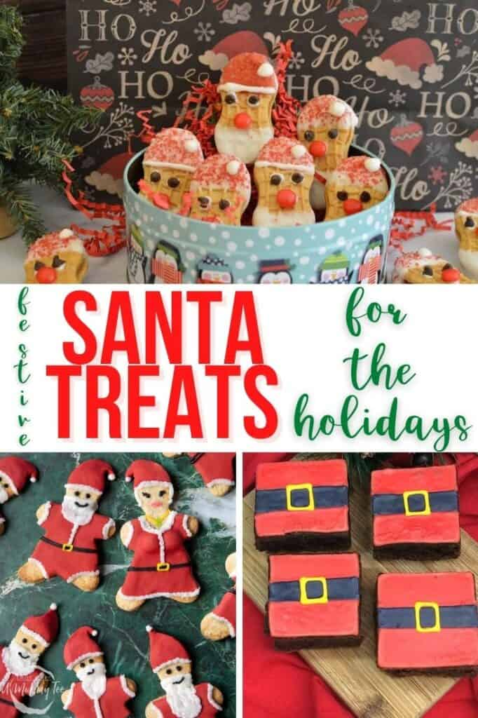 Festive Santa Treats for the Holidays