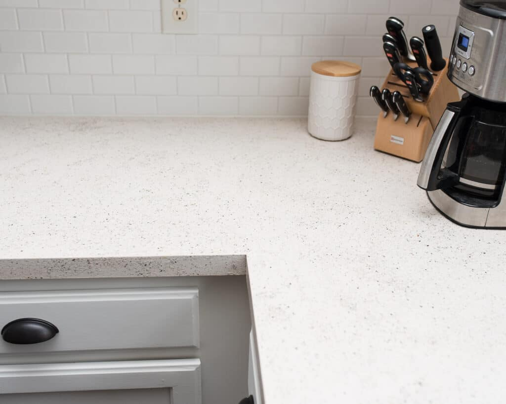 after refinishing countertops with daich coatings spreadstone kit