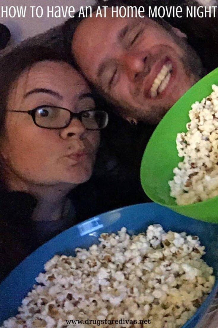 drugstore divas movie night at home - Amanda Seghetti
