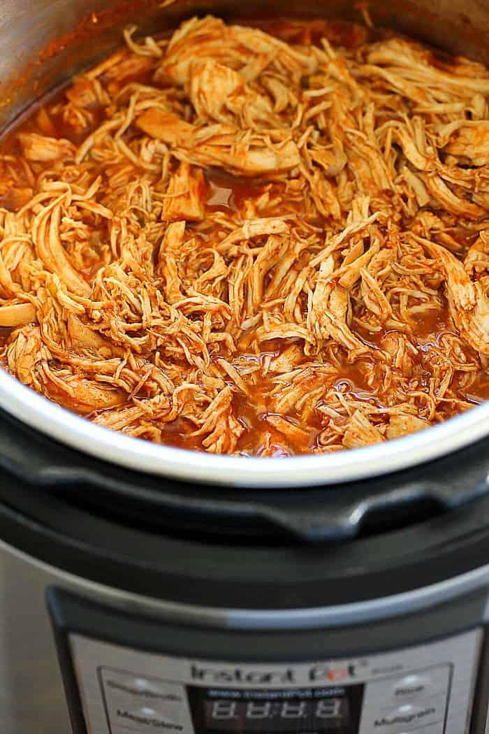 instant pot salsa chicken recipe 2 - Amanda Seghetti