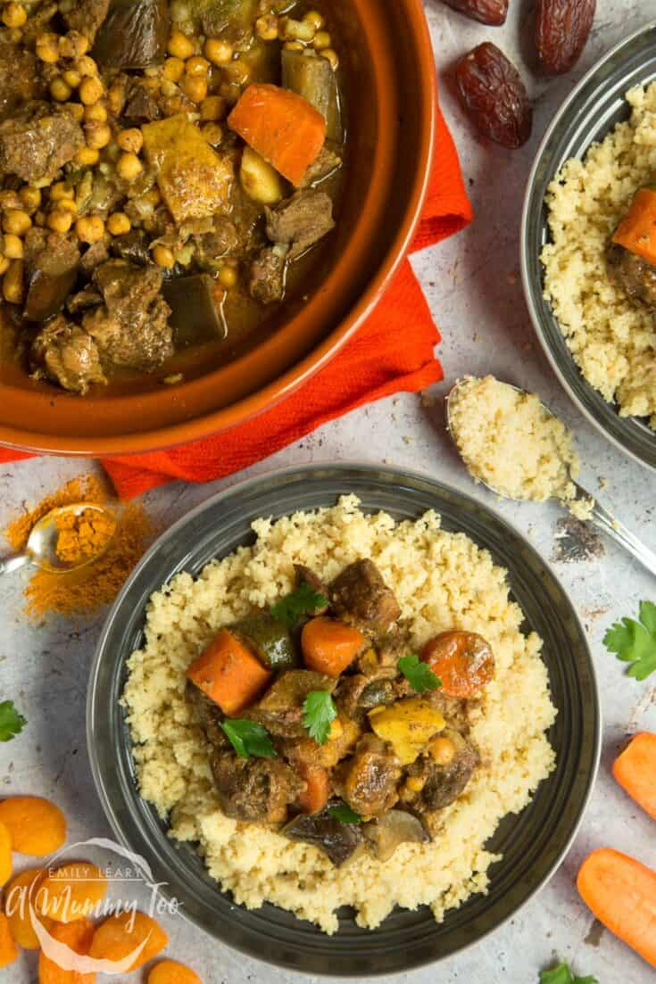 slow cooker lamb veg tagine - Amanda Seghetti