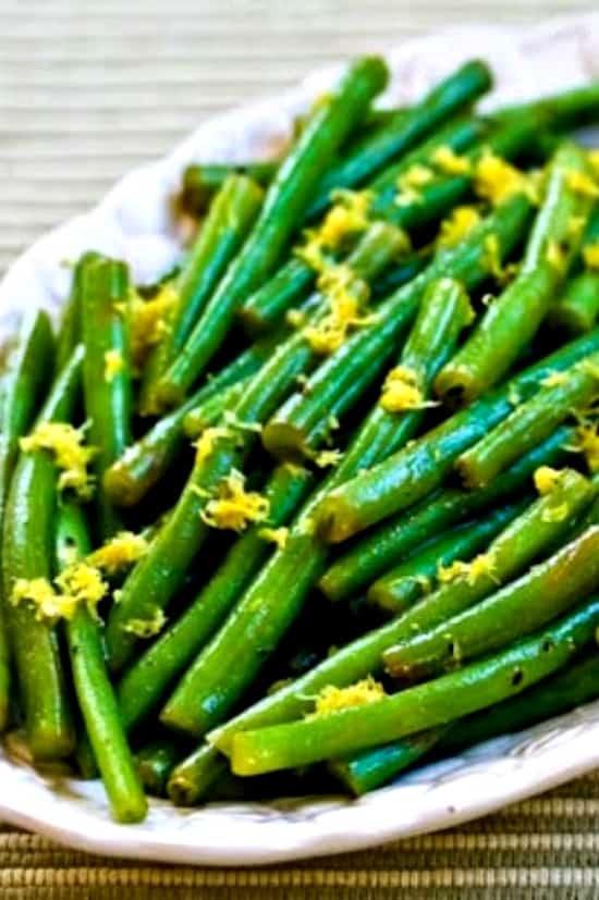 1 crop 550 lemony green beans 400x400 kalynskitchen - Amanda Seghetti