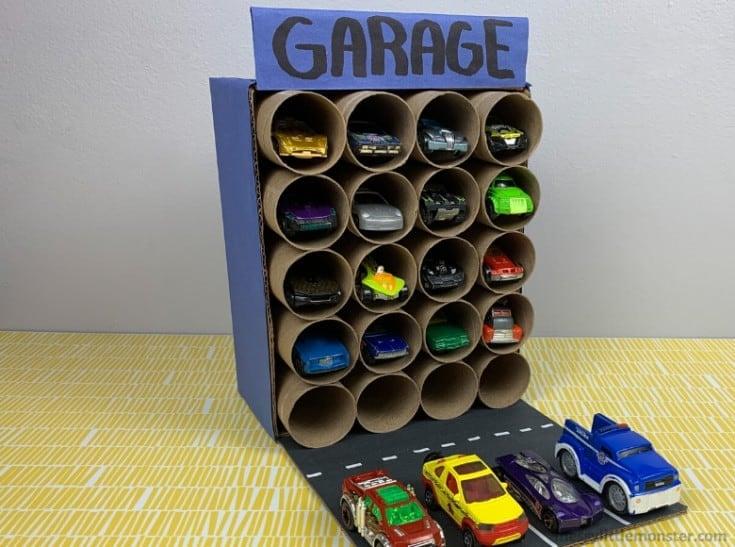 Cardboard Parking Garage for Toy Cars 3 - Amanda Seghetti