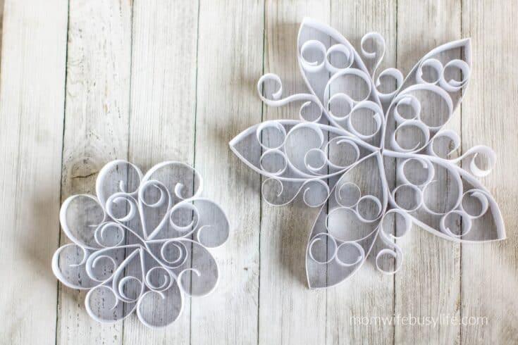 Curled Paper Snowflakes Sample 3 6 1 - Amanda Seghetti