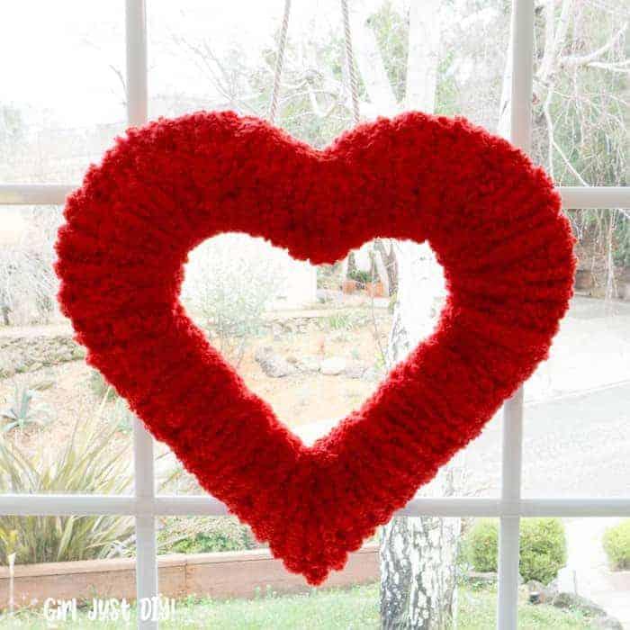 diy valentines home decor valentine wreath
