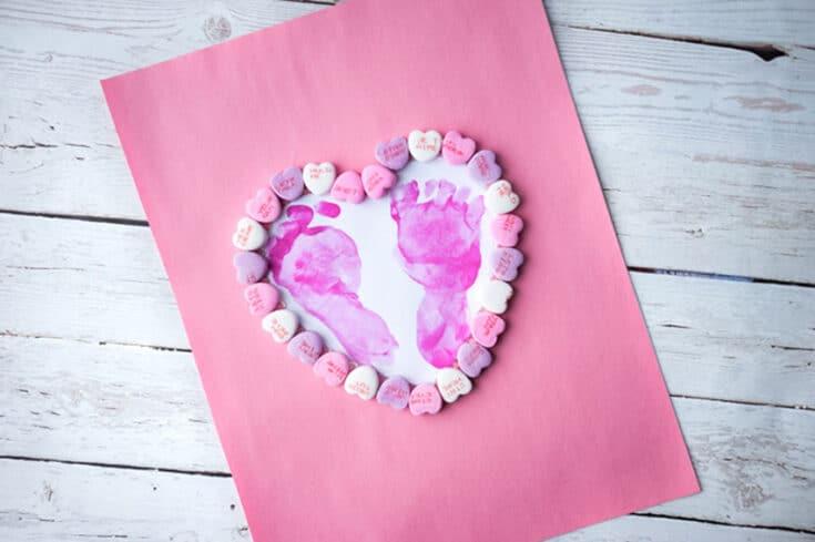 Footprint Heart Cover - Amanda Seghetti