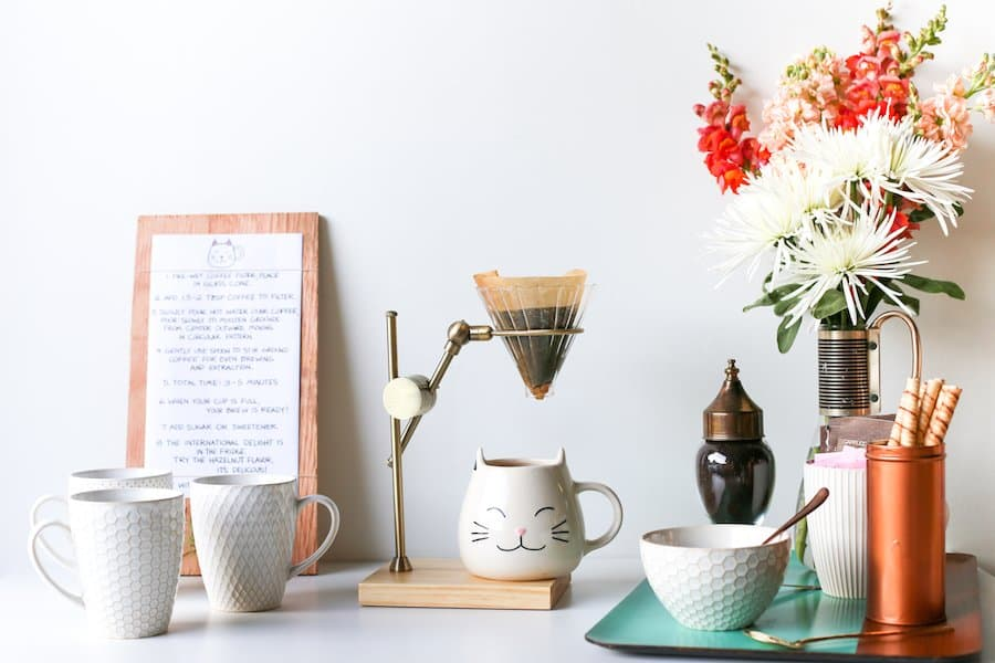 How To Set Up A House Guest Coffee Station Tutorial Salty Canary 54 of 60 copy - Amanda Seghetti