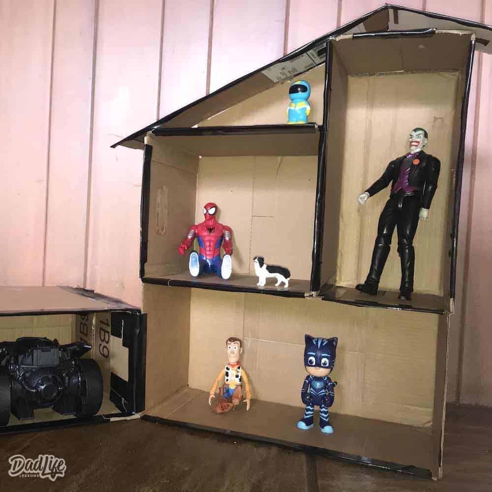 How to Make a Dollhouse out of Cardboard - Amanda Seghetti