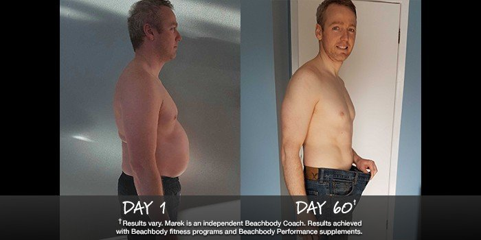 Insanity results 41 pounds in 60 days