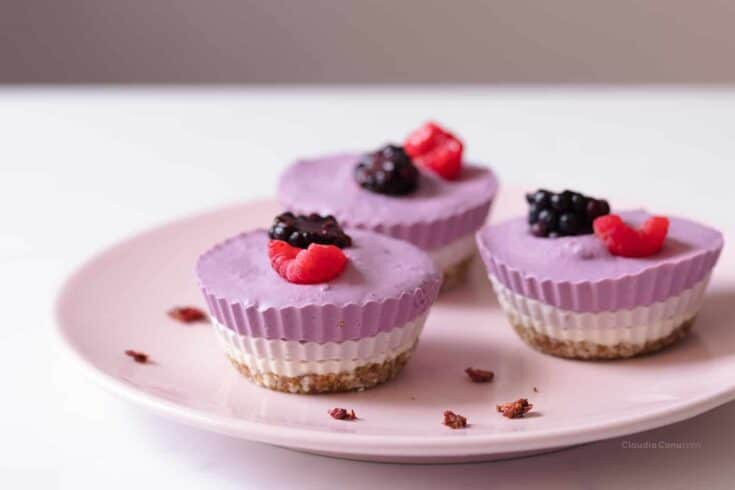 No bake mini cheesecakes - Amanda Seghetti