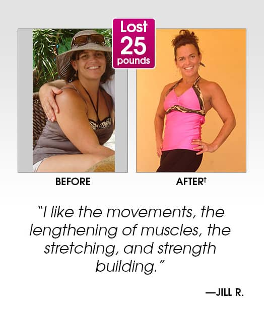 PiYo review and results Jill lost 25 pounds