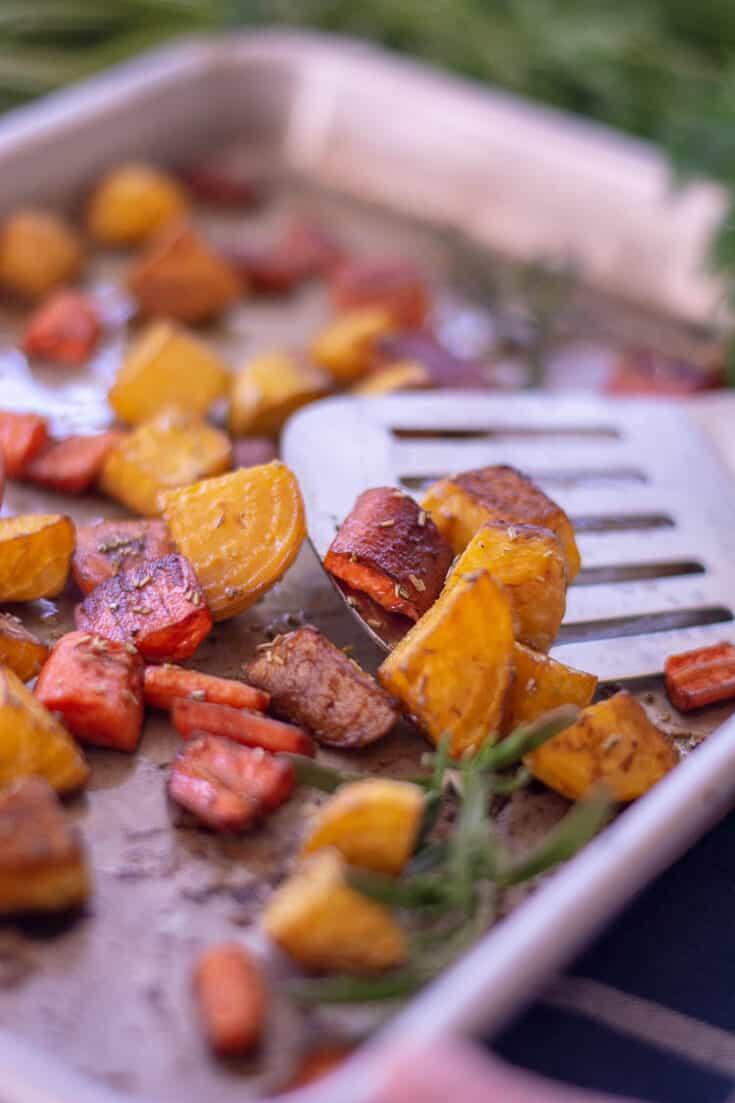 Roasted Beets and Carrots 8 - Amanda Seghetti
