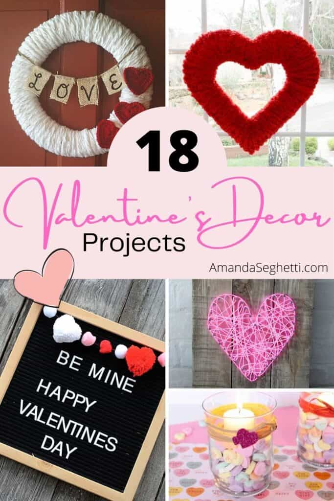 We've gathered up a fun selection of projects for you to make this Valentine's Day. Some are even perfect for kids, so you can get the whole family involved! Happy Valentine's Day!
