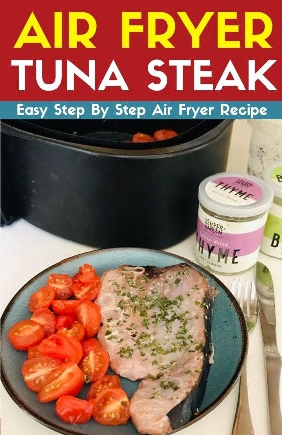 air fryer tuna steak recipe - Amanda Seghetti