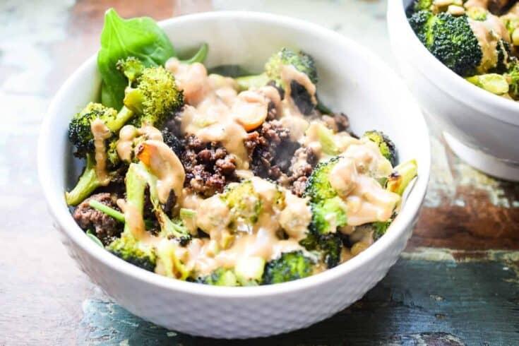 beef and broccoli bowls1 - Amanda Seghetti