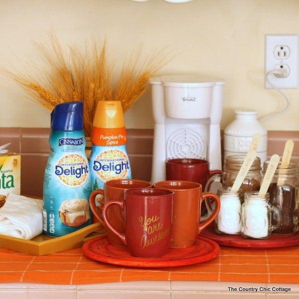 coffee nook for fall guests 014 - Amanda Seghetti