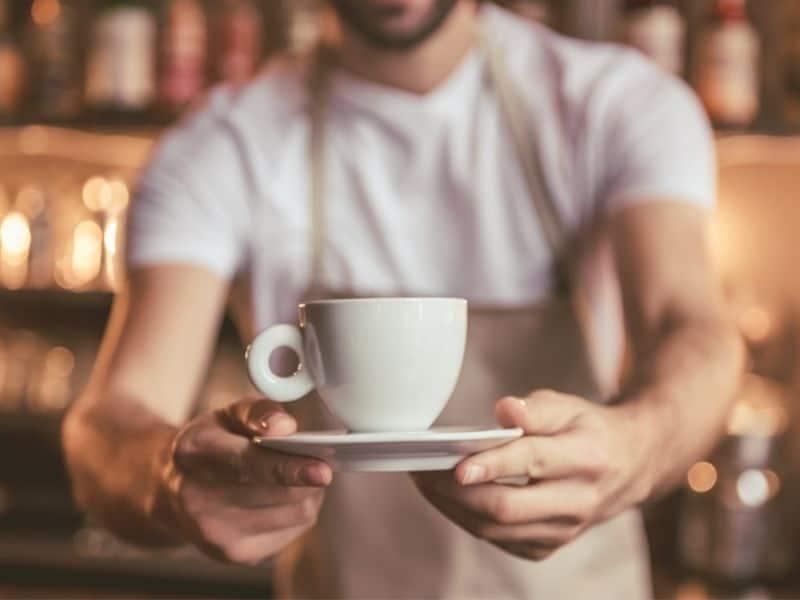 home coffee bar