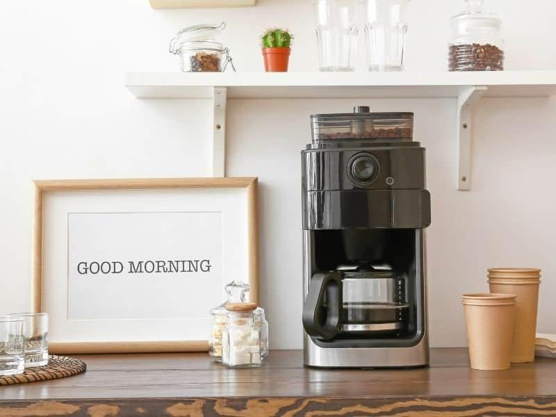 home coffee station cover - Amanda Seghetti
