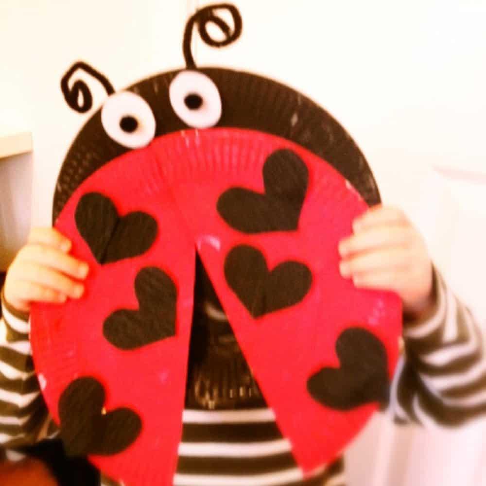 ladybird craft for kids