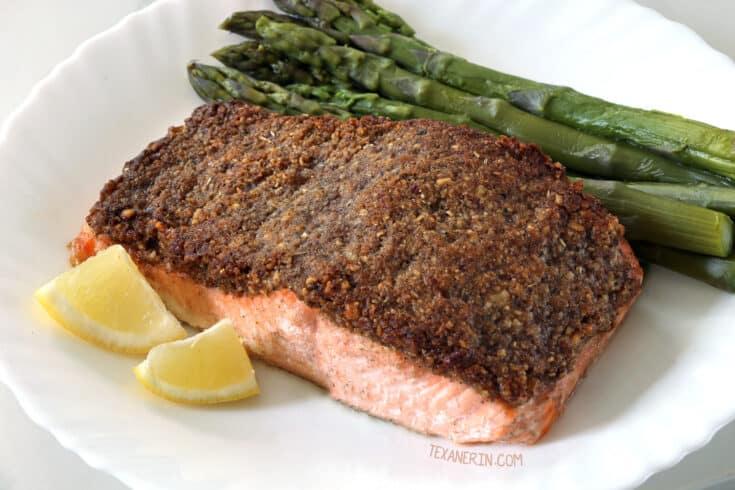 paleo pecan crusted salmon 1 - Amanda Seghetti
