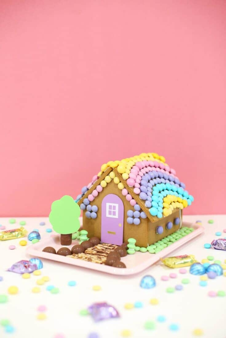 diy easter bunny gingerbread house 7 scaled 1 - Amanda Seghetti