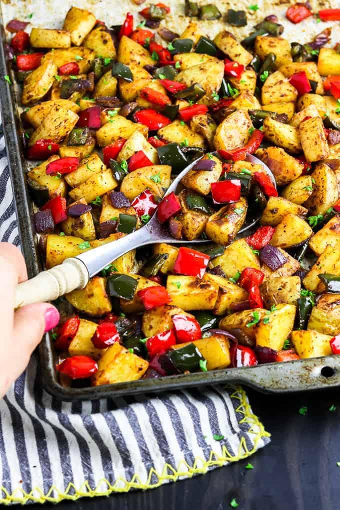 roasted breakfast potatoes 7 - Amanda Seghetti