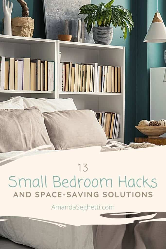 small bedroom hacks - Amanda Seghetti