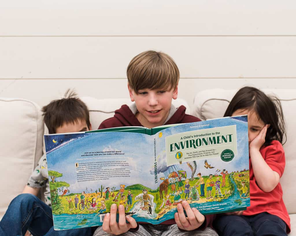 Environment book for kids