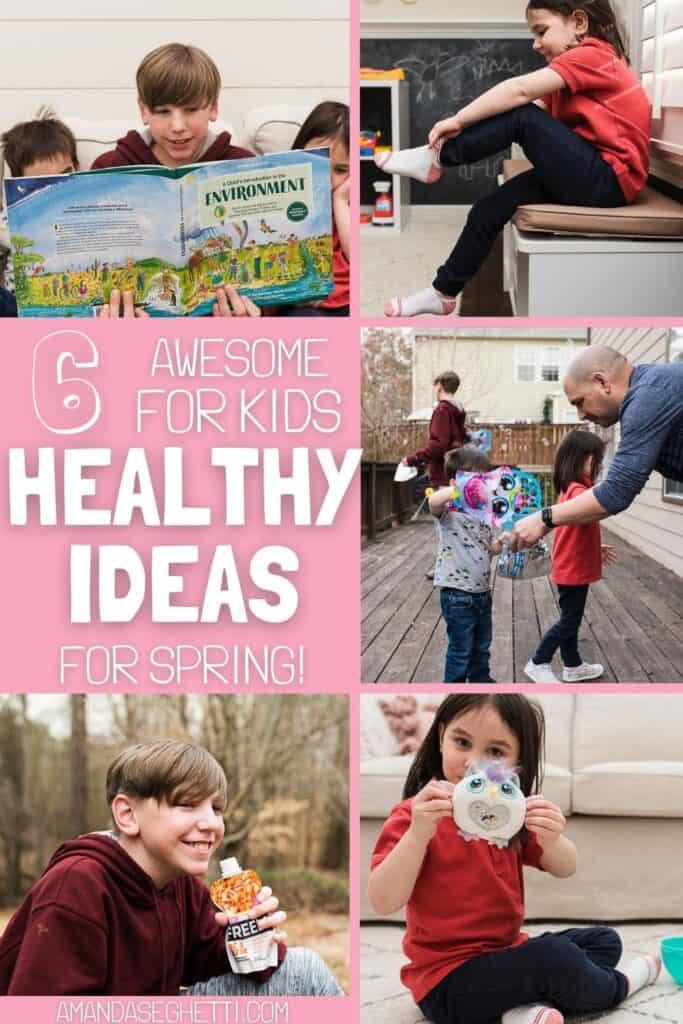 Spring Health and Wellness Activities for Kids and Families
