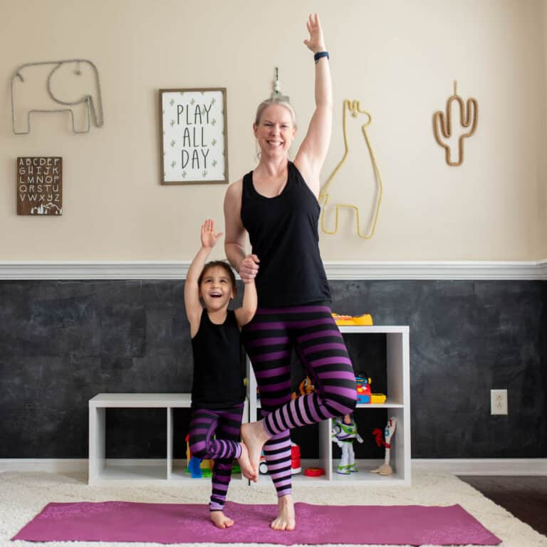 Mommy and Me Yoga | 13 Partner Yoga Poses for Kids
