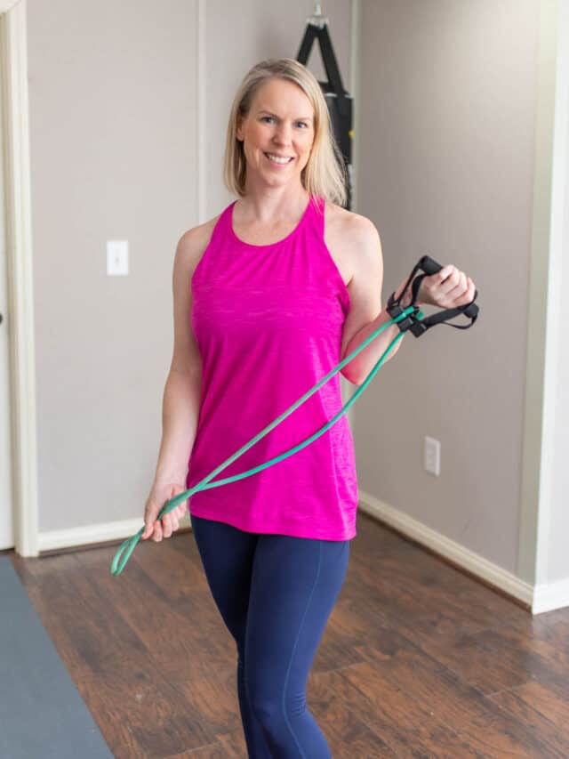 Resistance Band Shoulder Exercises