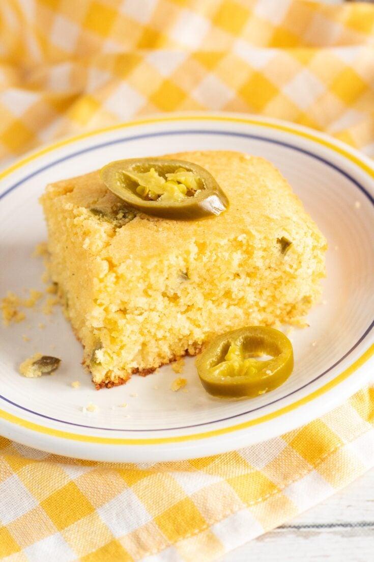 Honey Jalapeno Mexican Cornbread Recipe 4 - Amanda Seghetti
