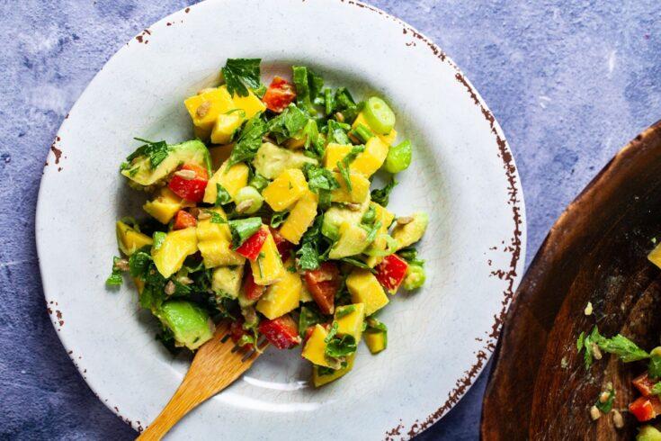 Mango Avocado Salad - Amanda Seghetti