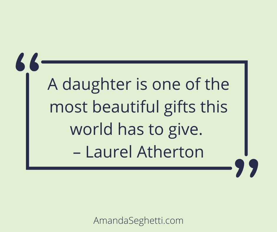 beautiful gift love quote - Amanda Seghetti