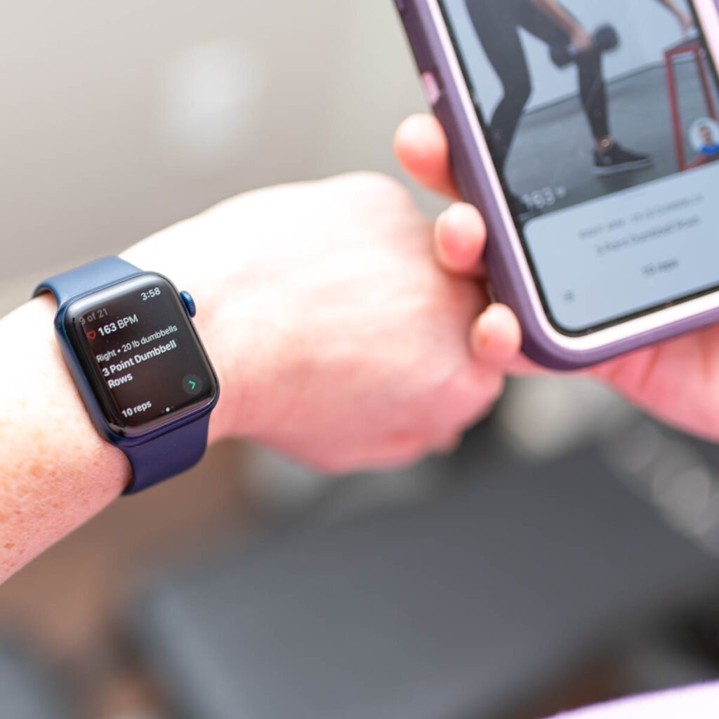 using apple watch with future fitness app