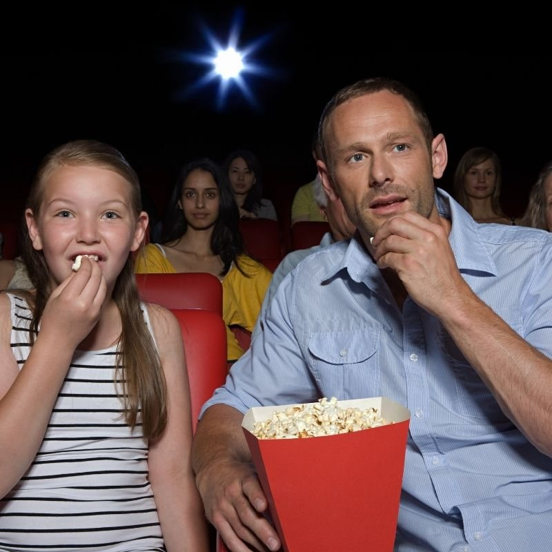 father daughter movie date